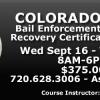 Colorado Bail Enforcement Certification