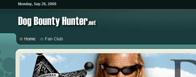 A Sneak Peak at the new Dog Bounty Hunter.net